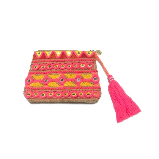 Monedero TOSCANA Boho Orange
